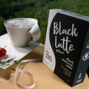 Black Charcoal Latte - dangereux - pas cher - commander