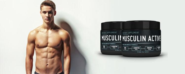 Musculin Active - action - pas cher - site officiel