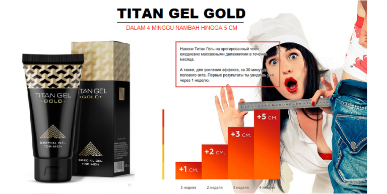 Titan gel gold - composition - Amazon - prix