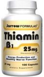 Thiamine par les formules de Jarrow