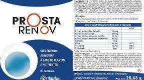 Prostarenov - comprimés - sérum - effets
