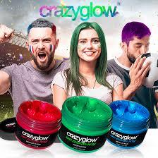 Crazyglow - teinture pour cheveux – Amazon – France – effets