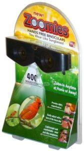 Glasses binoculars ZOOMIES – lunettes zoom - pas cher – dangereux – prix